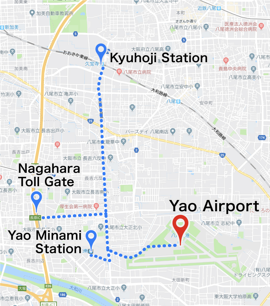 yao_airport access map