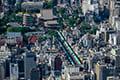 ヘリコプターで東京上空をフライトして見える浅草